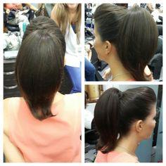 #hair #cabello #peinado #upDos #ponyTail #cola #straight #lacio #hairdresser #hairstylist #estilista #peluquero #panama #pty