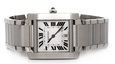 Cartier Tank Francaise Large W51002Q3 - for sale - Govberg via Perpetuelle