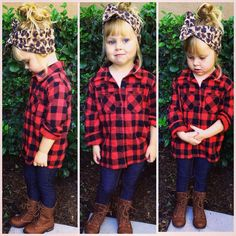 Baby Kids Plaid Blouses Fall Boys Girls Long Sleeve Shirt Checks 2017 New Arrival Fashion Hot Sale Tops Blouse Outfit For Babies Baby Outfits, Girls Fall Outfits, Outfits Niños, Little Girl Outfits, Little Girl Fashion, Toddler Girl Outfits, Toddler Girl Fall, Girls Wear, Girls Dresses