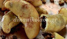 Κρουασανάκια της Ανατολής Potatoes, Cookies, Vegetables, Food, Recipes, Crack Crackers, Vegetable Recipes, Eten, Cookie Recipes