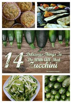 If you are a vegetable gardener, chances are that you're currently experiencing such an abundance of zucchini so great that even a ravenous family of squash lovers could never keep up with it. Gaps Diet, Gluten Intolerance, Summer Squash, Whole Food Recipes, Simple Recipes, Free Recipes, Growing Vegetables, Diet Tips, Zucchini