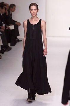 Calvin Klein Collection Fall 2002 Ready-to-Wear Fashion Show - Erin Wasson, Calvin Klein