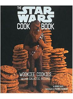 Wookiee Cookies Star Wars Cookbook by Chronicle Books might have to buy this!!!!