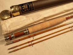 R.L. Winston, 3 piece Bamboo Fly Rod