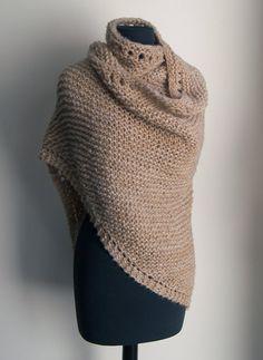 Extra Large Hand Knit Prayer Meditation Comfort by PeacefulPath