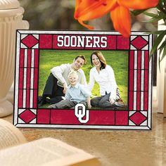 MEMORY Company Sports Team Art Glass Horizontal Picture Frame - Oklahoma State University