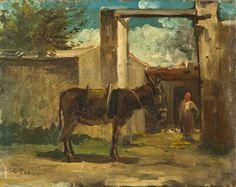 """""""Paesaggio a Montmorency"""", 1859. Camille Pissarro"""