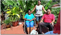 Yolanda y familia. Vinales, Home