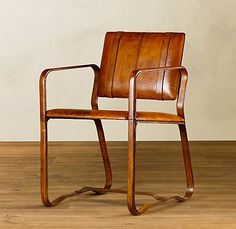 I am DYING over Restoration Hardware's Buckle chair. Wouldn't it be great with two at the heads of a dining room table?