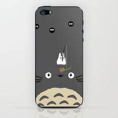 Cute Totoro iPhone & iPod Skin Totoro, Ipod, Phone Cases, Cute, Kawaii, Ipods, Phone Case