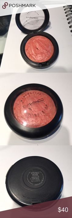 MAC Stereo Rose MSF Mineralized skin finish in Stereo Rose. Limited Edition. Used a few times still a ton of product left. View my other items, getting rid of my make up collection! Make me an offer (please NO lowball offers!) or purchase multiple for bigger discount! MAC Cosmetics Makeup Face Powder