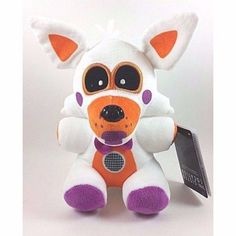 """$4.92 - Fnaf Exclusive 8"""" Lolbit Plush Five Nights At Freddy's Sister Location #ebay #Electronics"""