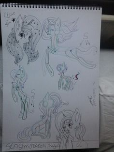 Star glim not really pony gril's oc, poses.  By loreëlla wolf.