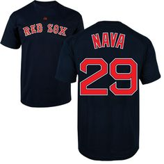 4a60318da Red Sox Player T-Shirt Nava - Navy  29 TA0295  30.00 Bobby Valentine