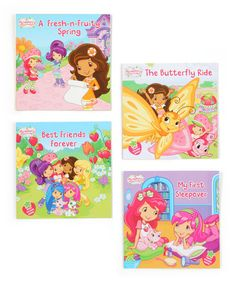 Love this Best Friends Forever Book Set by Strawberry Shortcake