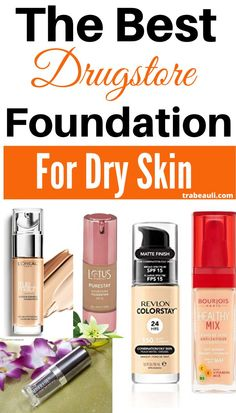 Looking for the best foundation for dry and dull skin drugstore with high end and full coverage. We have listed the top-rated matte foundation for dry skin. Best Foundation For Dry Skin, Best Drugstore Foundation, Matte Foundation, Makeup Tips, Drugstore Makeup, Drugstore Contouring, Elf Makeup, Makeup Brush, Luxury Beauty