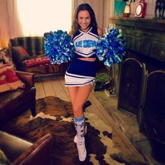 Cheerleader Images, Katherine Barrell, Brunette Actresses, Reebok Freestyle, Waverly Earp, Dominique Provost Chalkley, Waverly And Nicole, Great Tv Shows, Hot Brunette