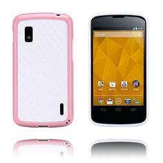 Delta (Vaaleanpunainen) LG Google Nexus 4 Kotelo - http://lux-case.fi/delta-vaaleanpunainen-lg-google-nexus-4-kotelo.html