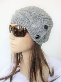 Womens Hat   Knit  Hat Winter hat     Cloche Hat  in by Ebruk