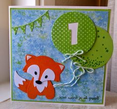 Kids Cards, Baby Cards, Marianne Design, Marianne Vos, Foxy Friends Punch, Baby Clip Art, Animal Cards, Punch Art, Stamping Up