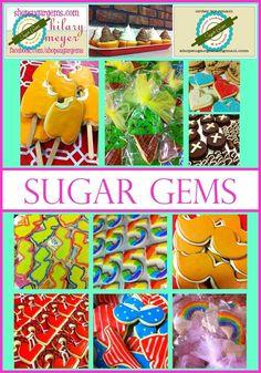 custom cookies & sweets shopsugargems.com facebook.com/shopsugargems