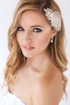 Ave Maria Bridal Headpiece