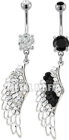 wing belly ring