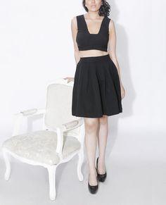 Crop Top and Skirt Set – StylishMob