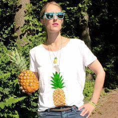 Ananasakäämä...eikun ananas. / Bijou Brigitte #tyyli #asusteet #munkoskari