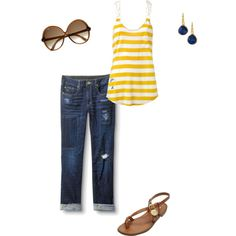 """Summer Mom on the go"" by ralbert13 on Polyvore"