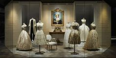Dior Opens the Largest Fashion Exhibition Ever to be Held in Paris/ incredible level of detail in these historic apparel pieces