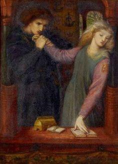 Le Prince Lointain: Dante Gabriel Rossetti (1828-1882), Hamlet & Ophel...