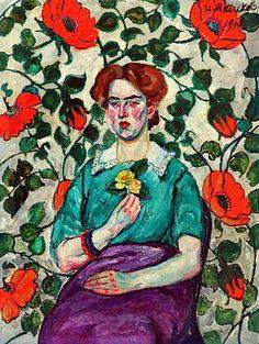 Илья Машков «Женский портрет. Минск»  Mashkov, Ilya (1881-1944)