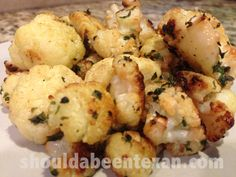 Primal Garlic Cauliflower recipe < simple, but awesome