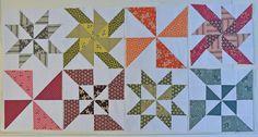 Hope Valley Pinwheel Blocks | by texas freckles | Melanie