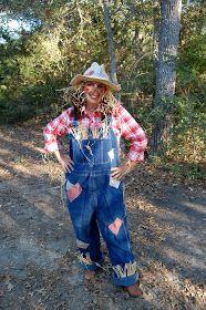 Heritage Schoolhouse: Homespun Scarecrow Costume