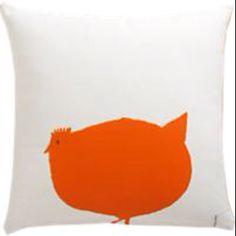Orange chicken pillow