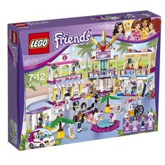 le centre commercial dheartlake city de lego friends rf 41058 age 7