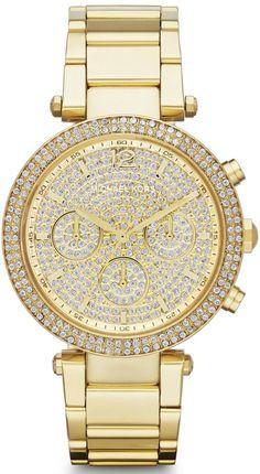 Michael Kors Parker #MK5856 Gold Watch