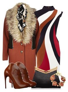 """Rusty Nails"" by ljbminime ❤ liked on Polyvore featuring River Island, J. Mendel, Gucci and Chanel"