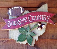 Buckeye Country. Who can make me one of these?