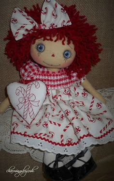 charmingsbycmh: Candy Cane Annie with smocking