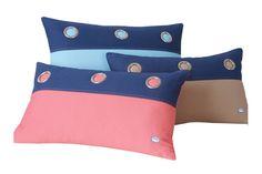 Grommet Cotton Pillow