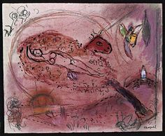 Song of Songs II - Marc Chagall  1957
