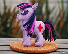 Twilight Sparkle My Little Pony Petite Plush