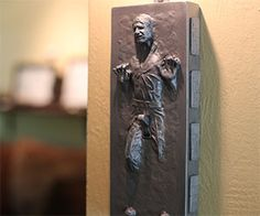 Han Solo Frozen Light Switch Cover YES PLEASE.