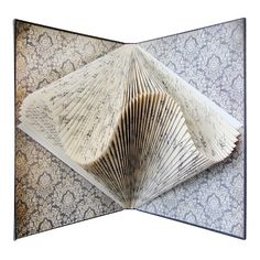 Completely inspired, totally awesome book art by Betsy Birkey and her Exploded Library. Sold out in minutes on V.