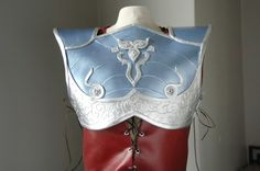 Craft foam breast plate tutorial.  Modify this for the Tiki Princess.
