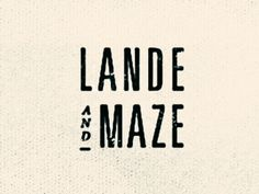 Mary Frances Foster / Lande and Maze