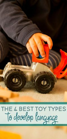 If you're trying to help your little one with their language skills, check out these 4 best types of toys to develop language.
